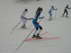Wodzisławianie rywalizują w biegach narciarskich