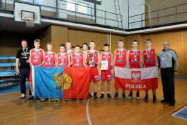 Srebrny medal dla wodzisławskich koszykarzy