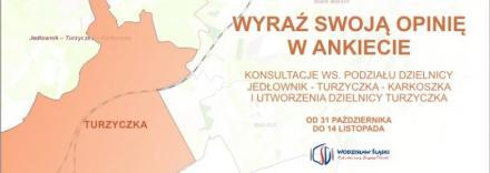 Ankieta ws. podziału dzielnicy Jedłownik-Turzyczka-Karkoszka