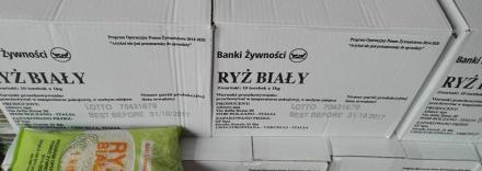 MOPS wydał ponad 18 ton żywności!