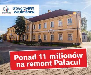 Ponad 11 milionów na remont Pałacu!