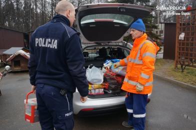 Policjanci zorganizowali zbiórkę karmy