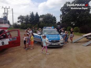 Policjanci zabezpieczali Rajdowy Puchar Śląska