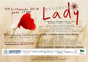 Impreza charytatywna Project Lady