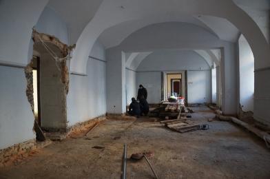 Trwa remont Pałacu Dietrichsteinów