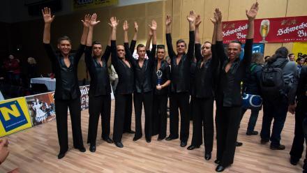 Klub Tańca Towarzyskiego SPIN zdobył srebrny medal na Międzynarodowych Zawodach Tanecznych
