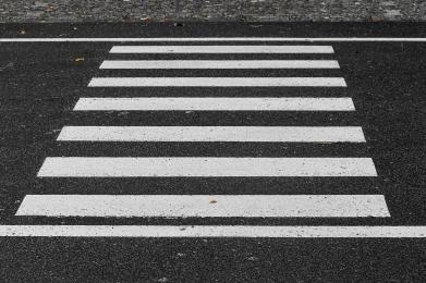 Potrącenie na przejściu dla pieszych