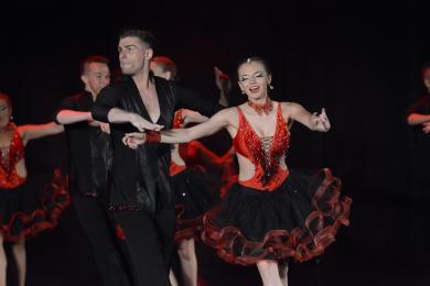 Klub Tańca Towarzyskiego Spin z brązowym medalem na międzynarodowym turnieju