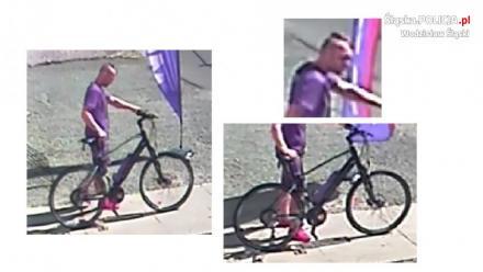 Mężczyzna ukradł rower - rozpoznajesz?
