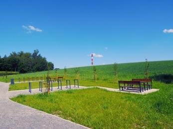 Przebudowa terenów zielonych zakończona