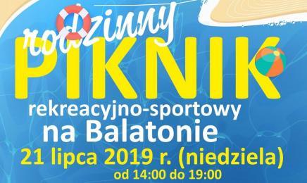 Rodzinny Piknik Rekreacyjno-Sportowy na Balatonie