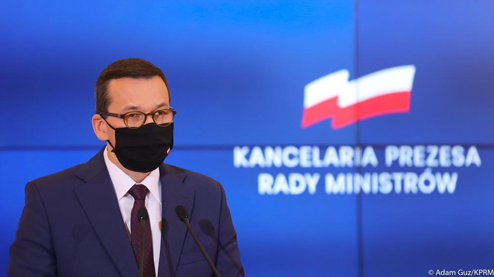 Premier: cała Polska od soboty strefą czerwoną