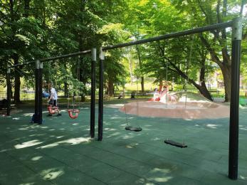 Bezpieczniej na placu zabaw w Parku Miejskim