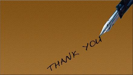 Podziękowania dla dzielnicowego z Gorzyc