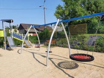 Place zabaw oddane do użytku