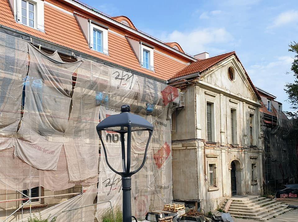 Intensywne prace w Pałacu Dietrichsteinów